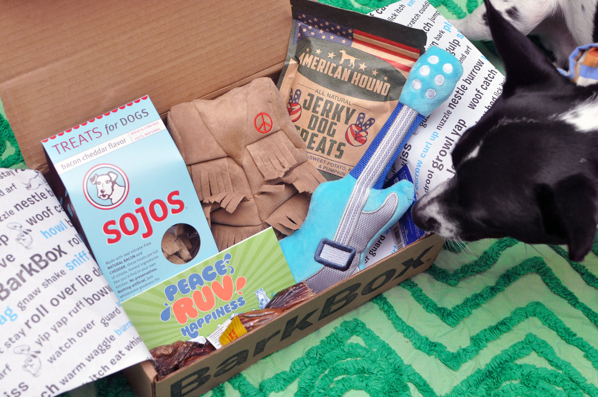 The Broke Dog: January 2016 BarkBox Unboxing. Add a free BarkBox to any new plan with code HENRYTHENUGGET!