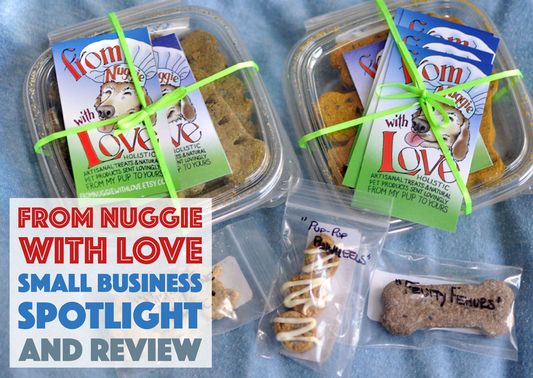 From Nuggie with Love LLC specializes in the formulation holistic, artisanal dog treats and premium all-natural pet care products. Henry and I interview the founder, Alley, and give some of their treats a test run!