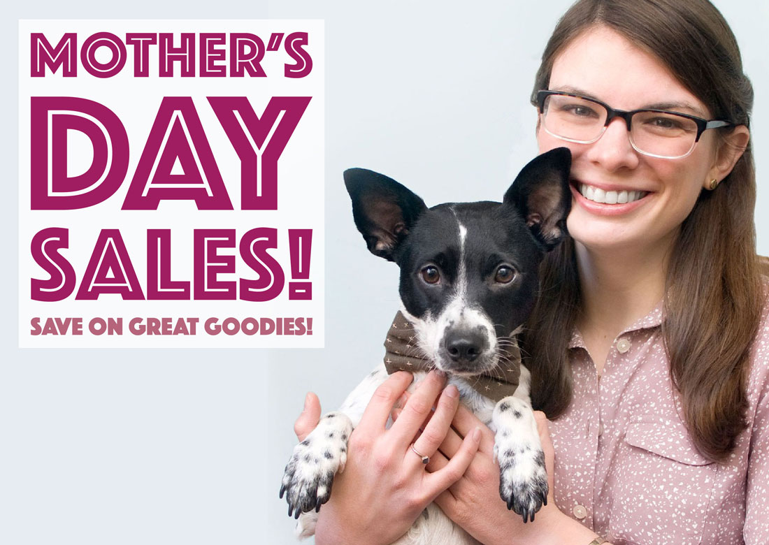 A roundup of Mother's Day Sales!