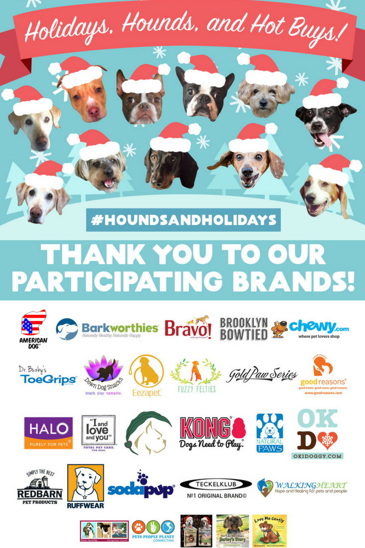Holidays, Hounds, and Hot Buys Gift Guide Giveaway! Win over $2000 worth of prizes from over 20 great brands!