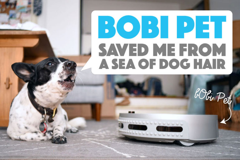 No time to clean? bObi Pet by bObsweep might be the answer! Henry and I had the chance to test this robotic vacuum on our shed-encrusted apartment floor. Did we like her? Heck yes!