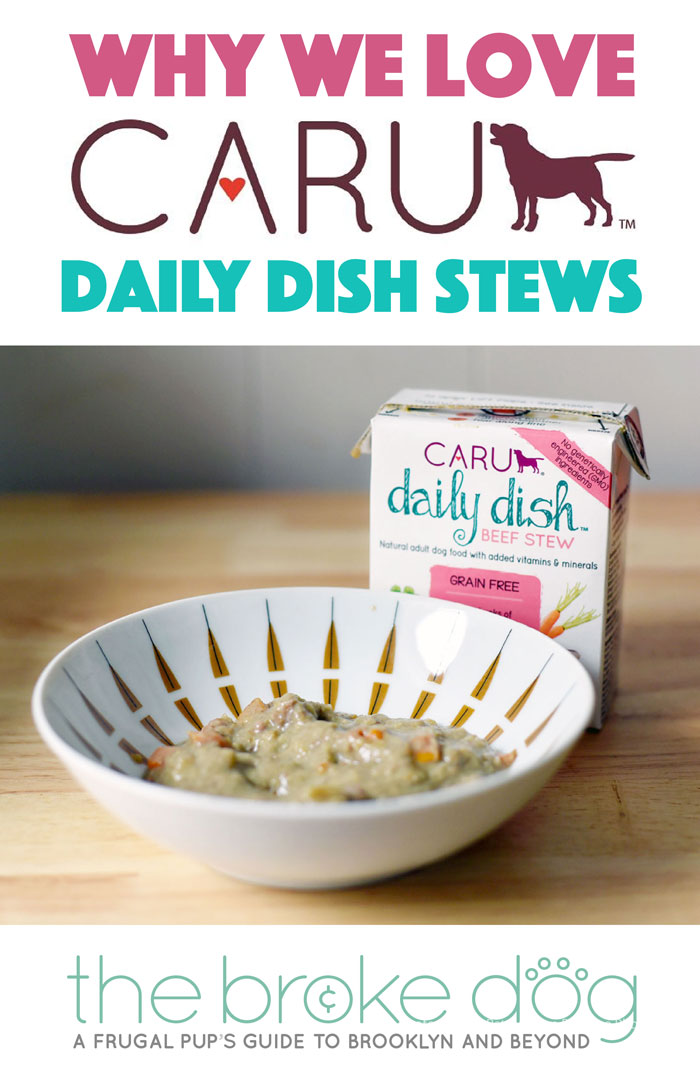 Searching for an affordable, high-quality prepared dog food? Look no farther than Caru Daily Dish Stew, one of the only 100% human grade dog foods on the market.