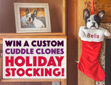 You may know the incredible custom stuffed animals from Cuddle Clones, but now you can win your own Cuddle Clones Holiday Stocking!