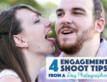 This summer, I was used my experience as a dog photographer to take my sister's engagement photos. Check out some of my resulting engagement shoot tips!